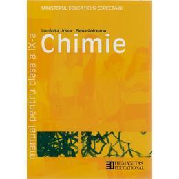 Manual chimie clasa 9 - Luminita Ursea, Elena Goiceanu, editura Humanitas