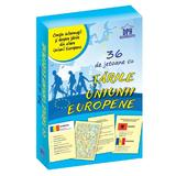36 de jetoane cu tarile Uniunii Europene, editura Didactica Publishing House