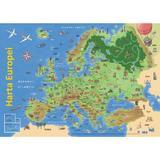Plansa: Harta Europei, editura Didactica Publishing House