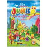 Carte de colorat Jumbo cu alfabet, cifre, fructe, legume, culori si abtibilduri, editura Eurobookids