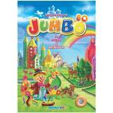Carte de colorat Jumbo cu animale si abtibilduri, editura Eurobookids