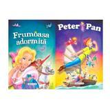 2 Povesti: Peter Pan si Frumoasa adormita, editura Girasol