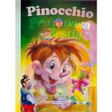 2 Povesti: Pinocchio si Frumoasa si Bestia, editura Girasol