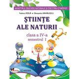 Stiinte ale naturii - Clasa 4. Sem. 1+2 - Manual + CD - Tudora Pitila, Cleopatra Mihailescu, editura Aramis