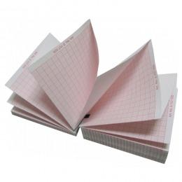 Hartie EKG Prima, pentru Welch Allyn CP100/CP200, caroiaj rosu, 1 top, 210 x 280mm, 300 buc