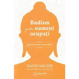 Budism pentru oameni ocupati - David Michie, editura Atman