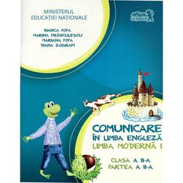 Comunicare in limba engleza clasa 2 Partea II limba moderna 1 + Cd - Bianca Popa, Marina Franculescu, editura Grupul Editorial Art