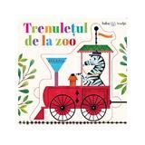 Bebe invata - Trenuletul de la Zoo - puzzle, editura Litera