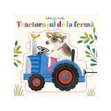 Bebe invata - Tractorasul de la Ferma - puzzle, editura Litera