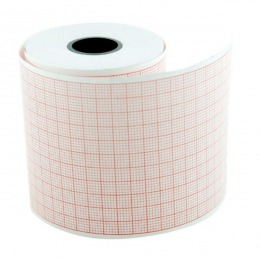 Hartie EKG Prima, pentru Fukuda Denshi OP358TE / FX7302, Nihon Kohden ECG6353/6453, caroiaj rosu, rola 145mm x 30m, 5 buc
