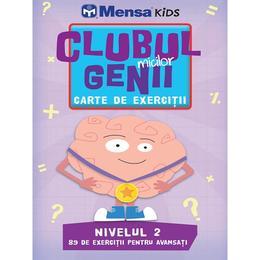 thumb clubul micilor genii carte de exercitii nivelul 2 mensa kids editura litera 1 - Clubul micilor genii. Carte de exercitii. Nivelul 2. Mensa Kids, editura Litera