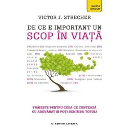 De ce e important un scop in viata - Victor J. Strecher, editura Litera