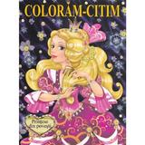 Printese din povesti. Coloram-Citim, editura Biblion