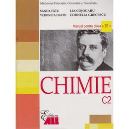Chimie Cls 12 C2 - Sanda Fatu, Veronica David, Cornelia Grecescu, editura All