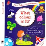 What colour is it? + CD - I learn English with Peter and Emily - Annie Sussel, Christophe Boncens, editura Rao
