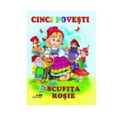 Cinci povesti - Scufita Rosie, editura Biblion