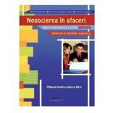 Negocierea in afaceri cls 12 - Mihaela Stefanescu, editura Cd Press