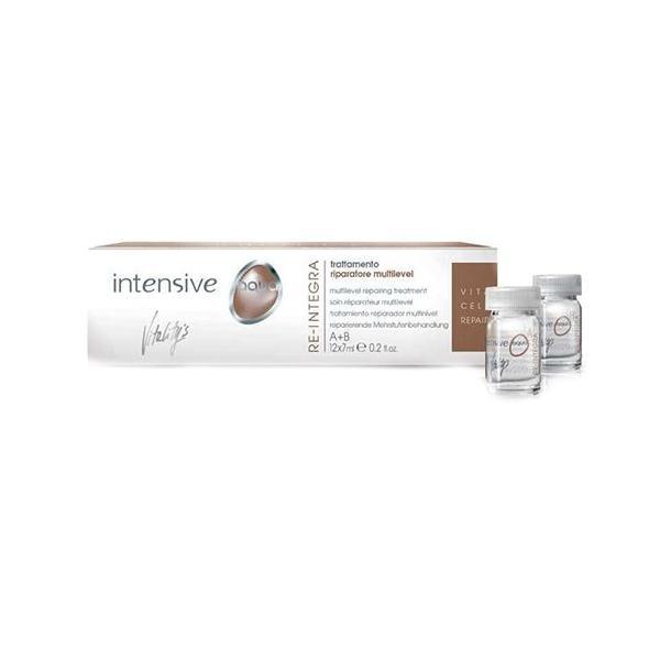Tratament Reparator - Vitality's Intensive Aqua Re-Integra Multilevel Repairing Treatment, 12 fiole x 7ml