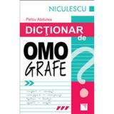 Dictionar de omografe - Petcu Abdulea, editura Niculescu
