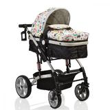 Carucior transformabil 2 in 1 Moni Pavo Grey