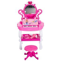 Set de machiaj pentru fetite: masa, scaun, pian - Caerus Capital