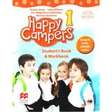 Happy Campers 1. Student's Book and Workbook - Angela Llanas, editura Litera
