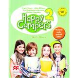 Happy Campers 2. Skills Book - Angela Llanas, editura Litera