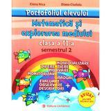 Portofoliul elevului: Matematica si explorarea mediului - Clasa 2 Semestrul 2 - Elena Nica, editura Carminis