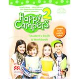 Happy Campers 2. StudentÒs Book and Workbook - Angela Llanas, editura Litera