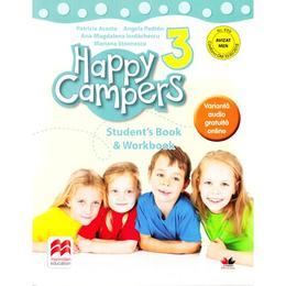 Happy Campers 3. StudentÒs Book and Workbook - Patricia Acosta, editura Litera