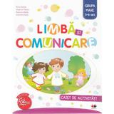 Limba si comunicare 5-6 ani. Grupa mare - Caiet - Nina Beldie, Virginia Chirac, editura Litera