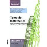 2014 Teme De Matematica Cls 8 Sem. 1 - Petrus Alexandrescu, editura Nomina