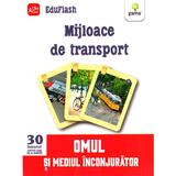 Mijloace De Trasport 3 Ani+ (eduflash)