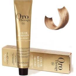 Vopsea fara amoniac - Fanola Oro Therapy Color Keratin - 9.3 blond foarte deschis auriu