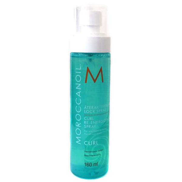 Spray pentru Redefinirea Buclelor - Moroccanoil Curl Re-Energizing Spray, 160ml imagine produs