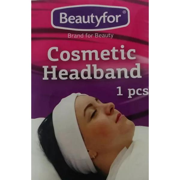 Bentita Cosmetica din Bumbac - Beautyfor Cosmetic Cotton Headband imagine produs