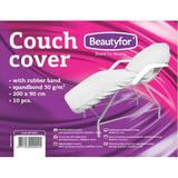 Cearceaf cu Banda Elastica - Beautyfor Couch Cover with Rubber Band, 200 x 90cm, 10 buc
