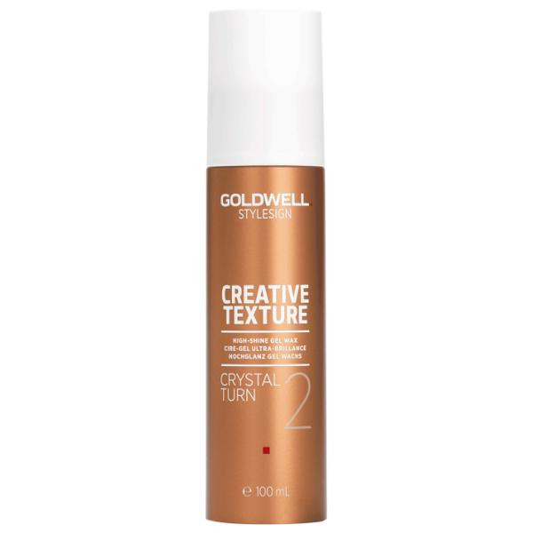 Gel-Ceara pentru Textura si Stralucire - Goldwell Stylesign Creative Texture Crystal Turn High-Shine Gel Wax, 100ml poza