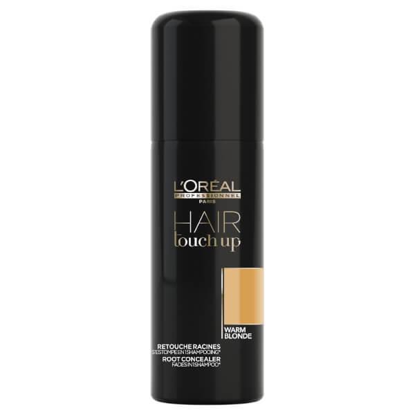 Spray Corector Pigment Blond Cald - L'Oreal Professionnel Hair Touch Up Spray Warm Blonde, 75ml esteto.ro