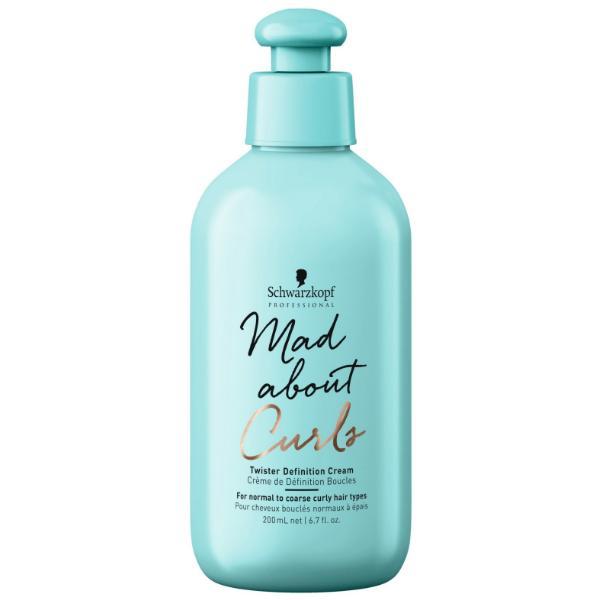 Crema pentru Definirea Buclelor - Schwarzkopf Mad About Curls Twister Definition Cream, 200ml imagine