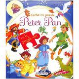 Peter Pan. Carte cu puzzle, editura Girasol