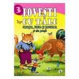 3 povesti cu talc: Cocosul, pisica si soricelul si alte povesti, editura Teopiticot