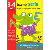 Activitati ingenioase si educative: Invat sa scriu 3-4 ani, editura Girasol