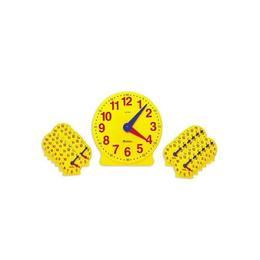 Ceasul didactic - Set de 25 de ceasuri pentru clasa si indrumator - Learning Resources