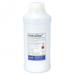 Dezinfectant si sterilizant la rece pentru instrumente InstruDes, concentrat 2 litri