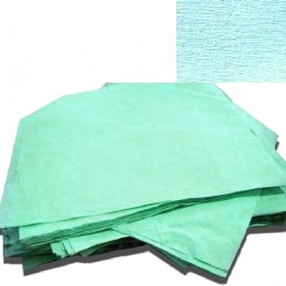 Hartie creponata pentru sterilizare Prima, autoclav/EO, verde, 120 x 120cm, 125 buc