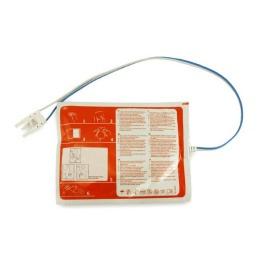 Electrozi pentru defibrilator Prima, adulti, aluminiu, spuma 1mm, 105 x 155mm, 2 buc