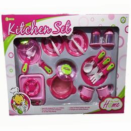 Set bucatarie copii - 18 piese - vase si aragaz - My Sweet Home
