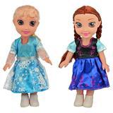 Papusile Anna si Elsa - Frozen - 25 cm - canta melodia
