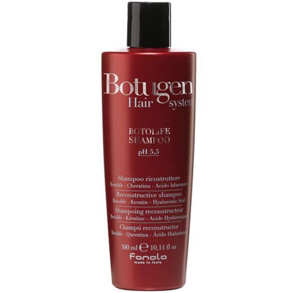 Sampon Reconstructor pentru Par Deteriorat - Fanola Botugen Hair System Botolife Reconstructive Shampoo, 300ml imagine produs